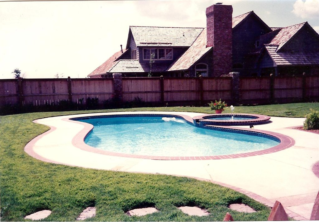 Gunite Pool and Spa