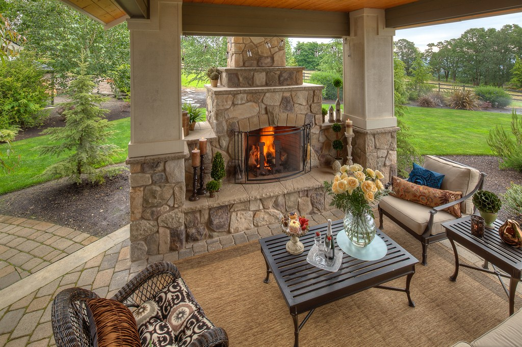CLASSIC STONE FIRE PLACE