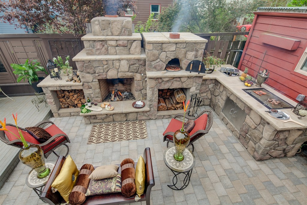 SMALLER BACK YARD MADE PICTURE PERFECT