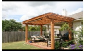 $500 OFF Any New Pergola, Arbor or Patio...