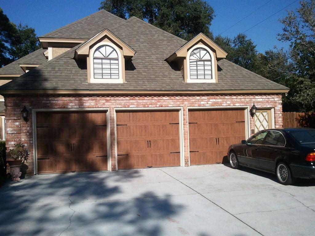 768 #336198 Door Torsion Spring And Roller Quality Door Service $ 500 Garage Door  image Wood Garage Doors Houston 35931024
