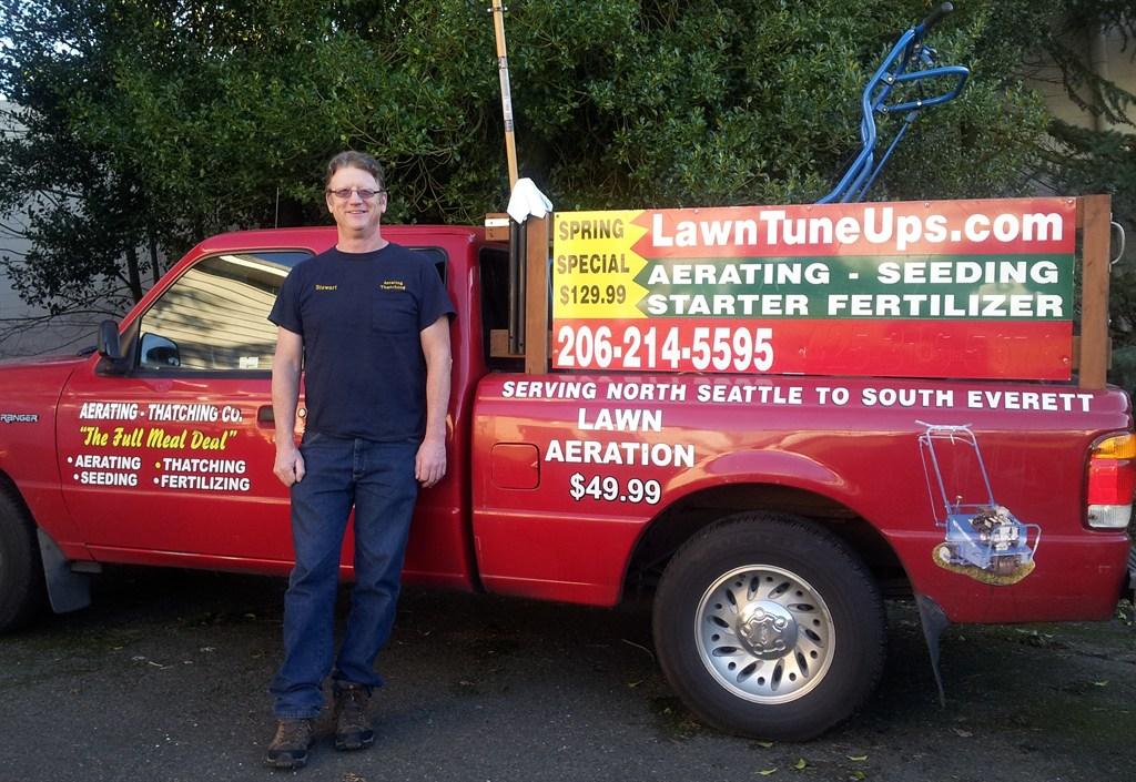 Stewart and Truck 2012