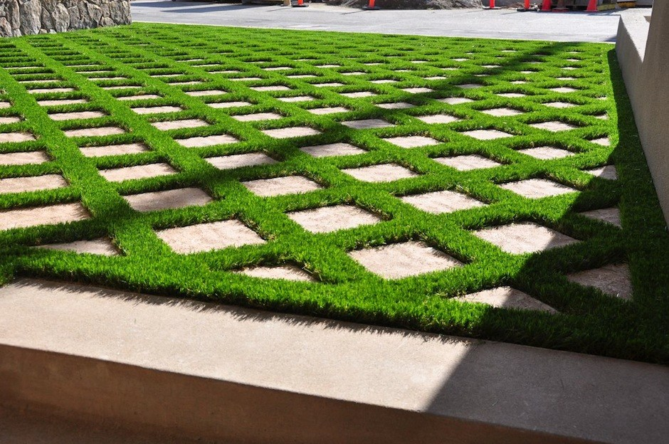 Fake Grass Yards : whether it s your back yard front yard or courtyard a high quality