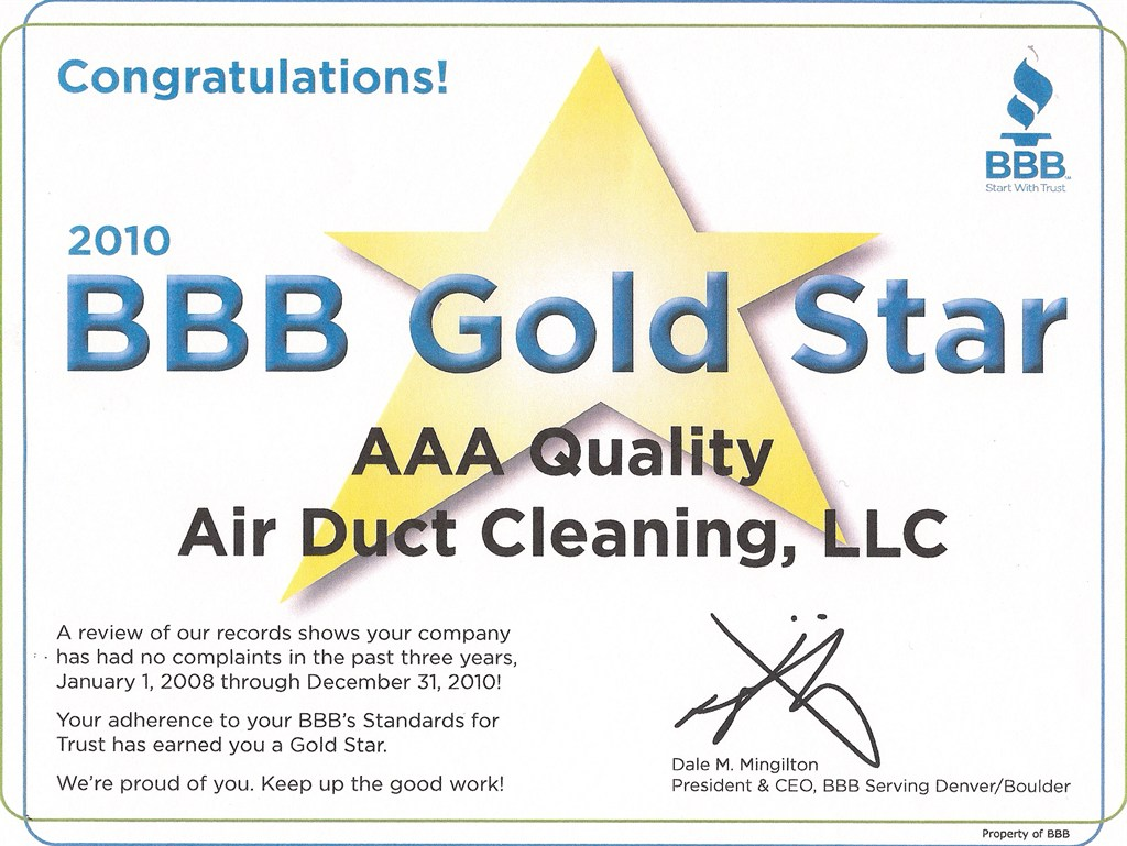 Aaa Quality Air Duct Amp Carpet Cleaning Greenwood Village