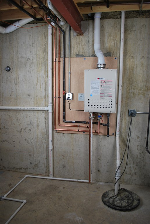 Noritz Tankless Water Heater Install