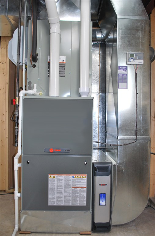 Trane XC95m Furnace Install