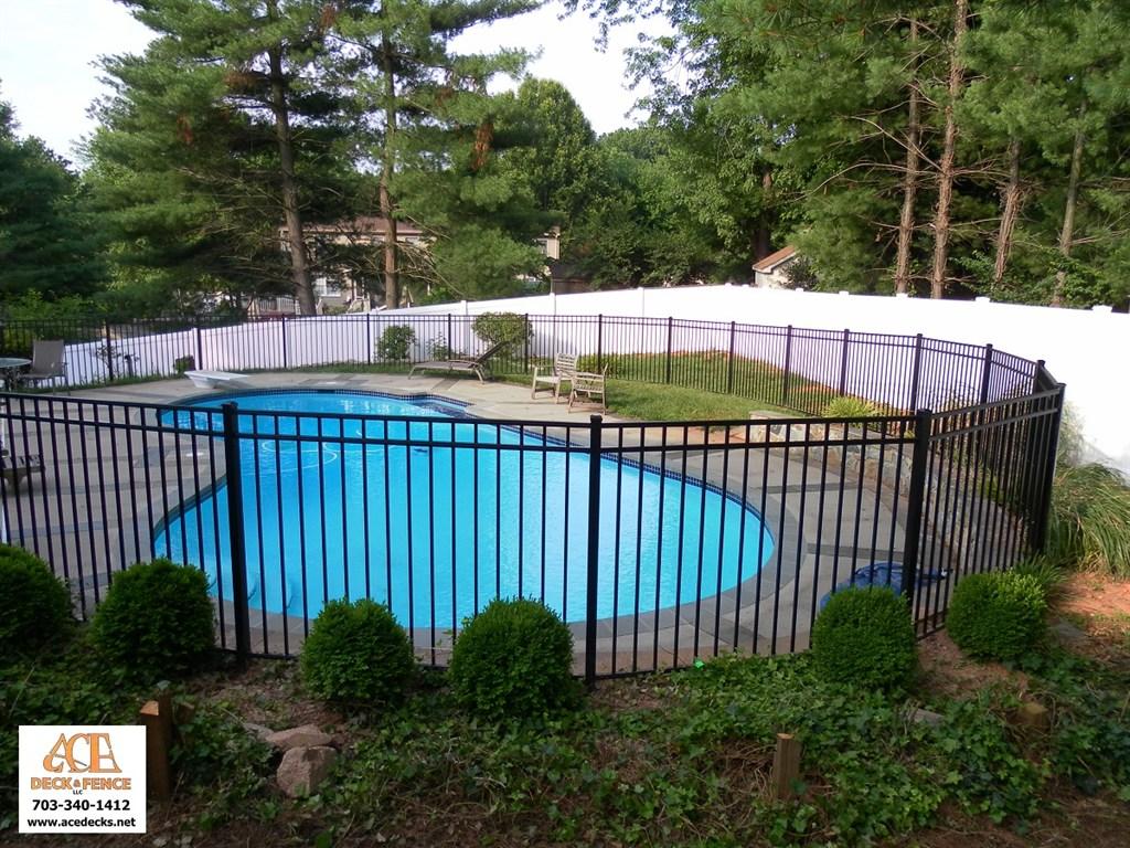 Ornamental Pool Fence & PVC