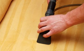 $169 for Upholstery Cleaning including Sofa...