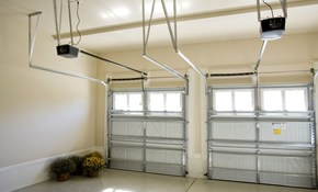 $111 Garage Door Tune-Up with Silencing Package