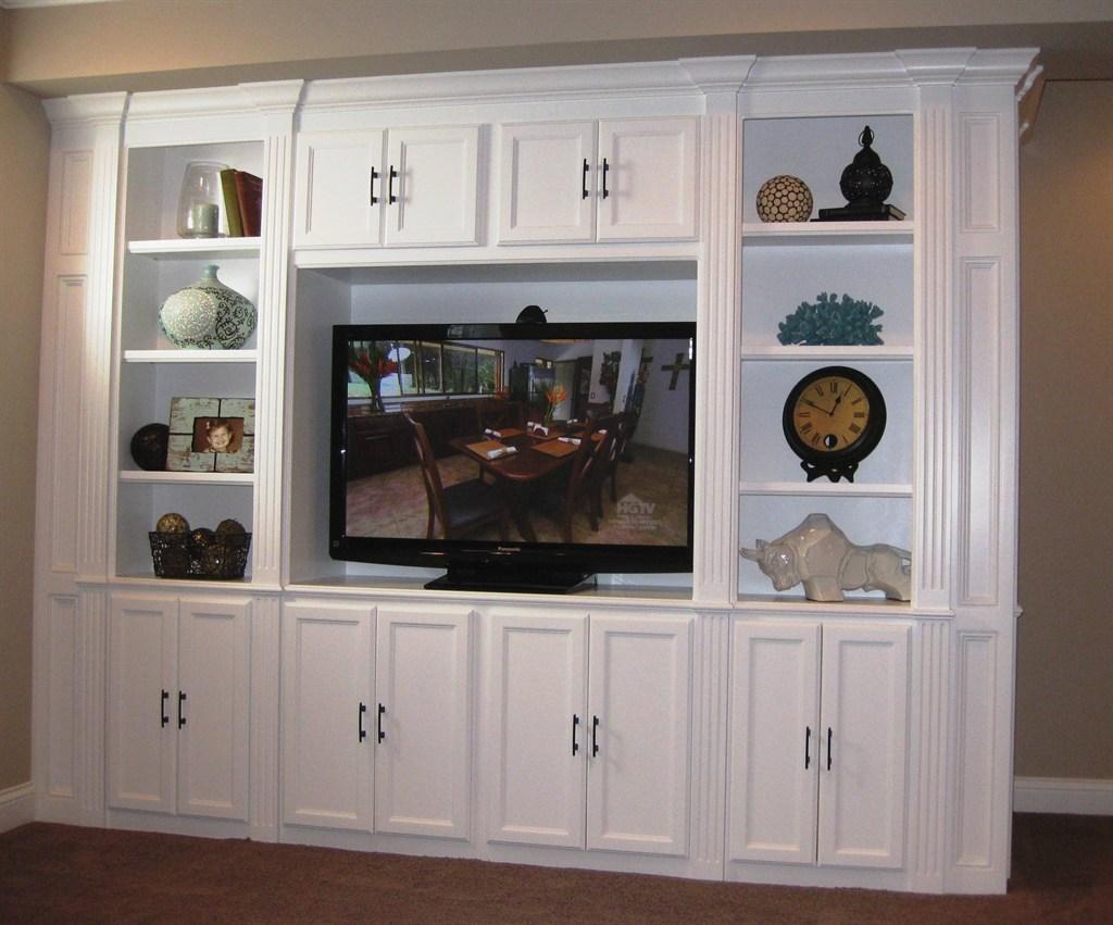 Basement Entertainment Cabinet