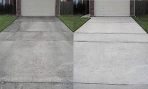 $199 for Concrete Driveway Pressure Washing...