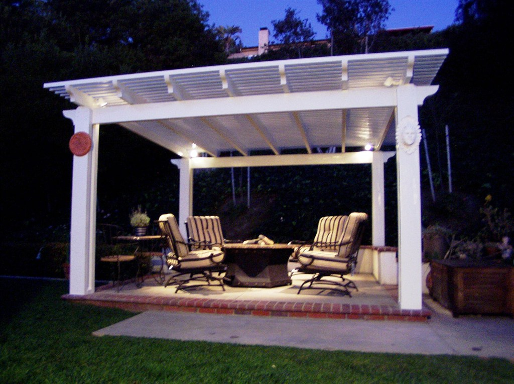 original outdoor covered patio ideas - Covered Patio Lighting Ideas