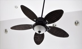 $140 Ceiling Fan Installation