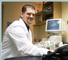 Dr Martin in Ultrasound