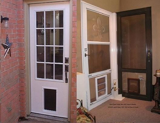 Exterior Door With Built In Pet Door - Home Design - Mannahatta.us