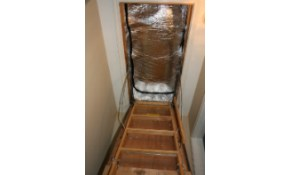 $167 for a Heavy Duty, Premium, Attic Access...