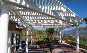 $2,499 for a 10' x 15' Open Lattice Patio...