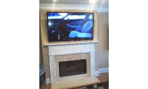Fireplace Flat Screen TV Mounting + Mount...