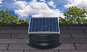 $475 Installation of a Solar Attic Fan