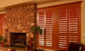$250 Off Your Custom Plantation Shutter Job...