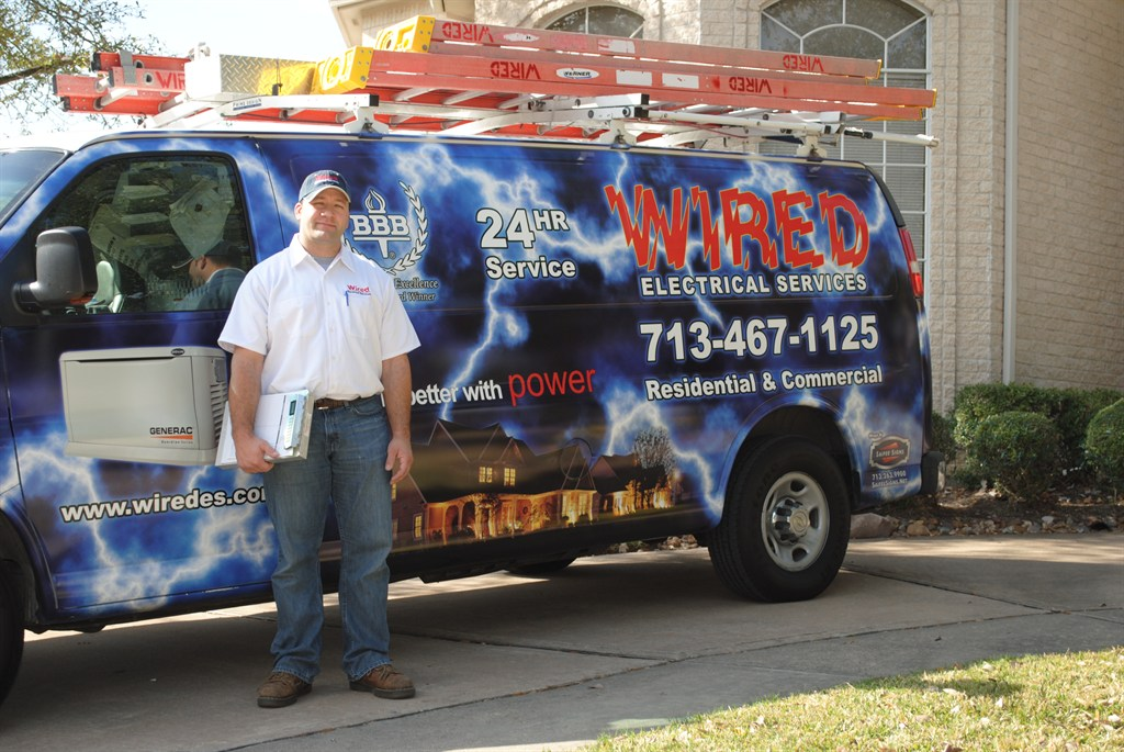 Wired electrical services houston