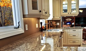 $45 for Custom Kitchen Design Services with...