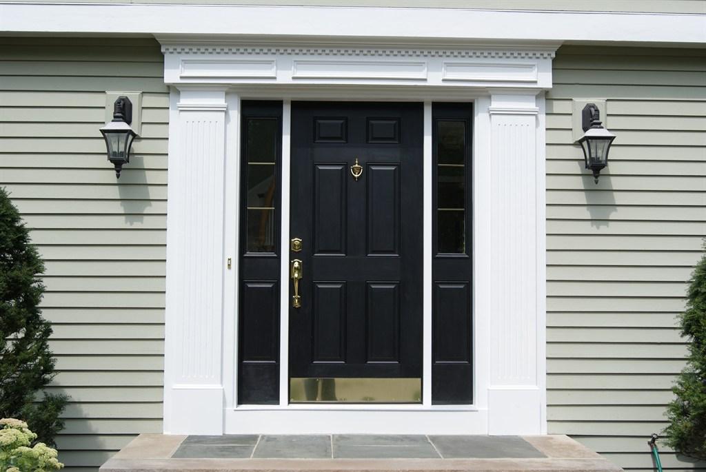 New Entry Door w/ sidelites
