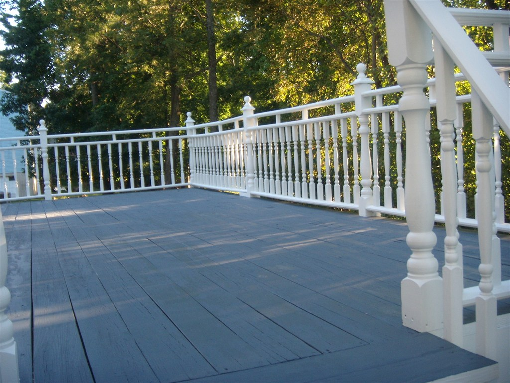 Can You Paint A Deck With House Paint