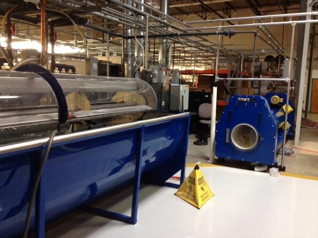 The dual port centrifuge
