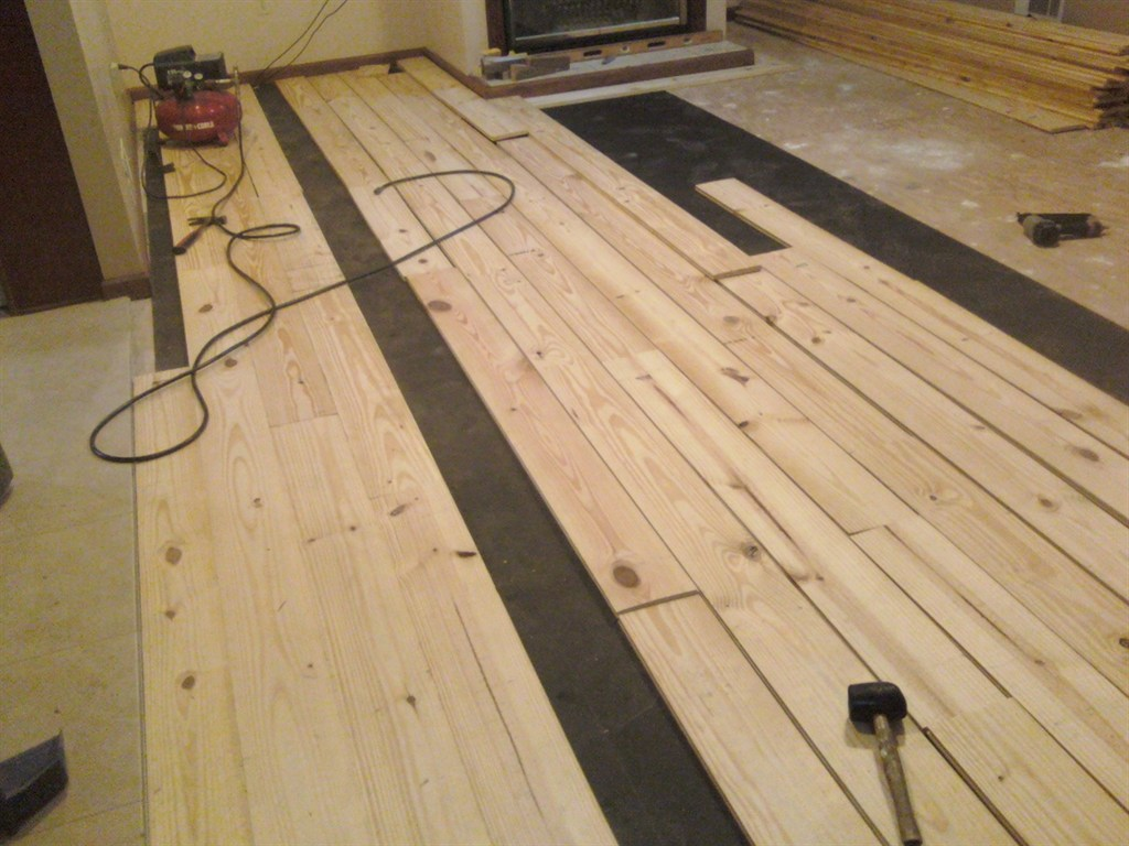 Custom wood floors by simmons jackson ga 30233 angies for Custom hardwood flooring
