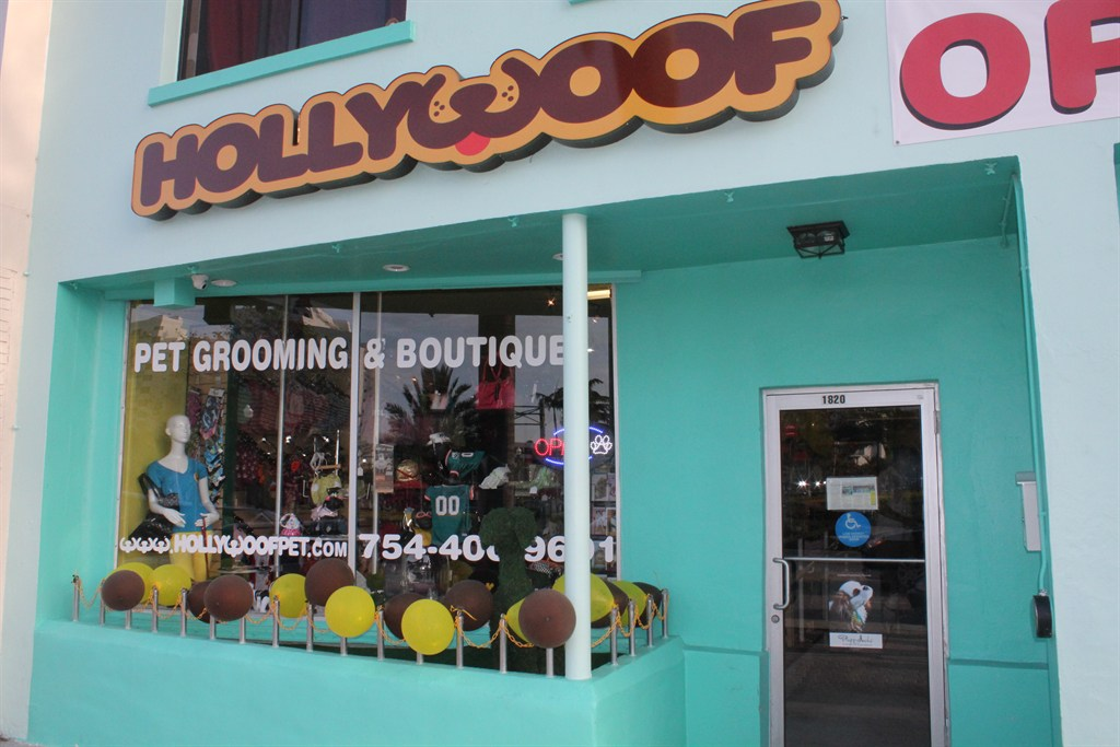 hollywoof pet grooming  u0026 boutique