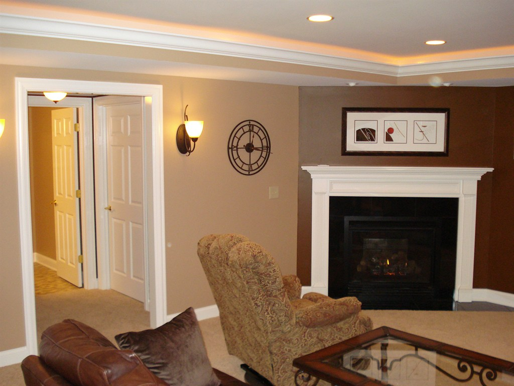 Basement Remodel in New Albany