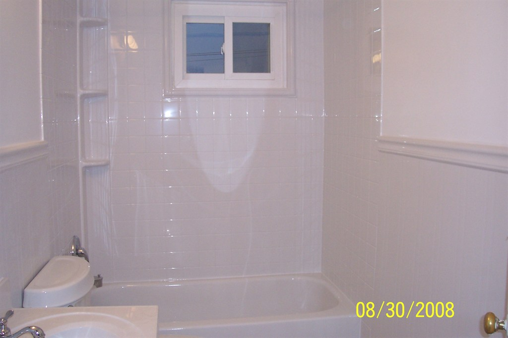 Brand new tub and walls!
