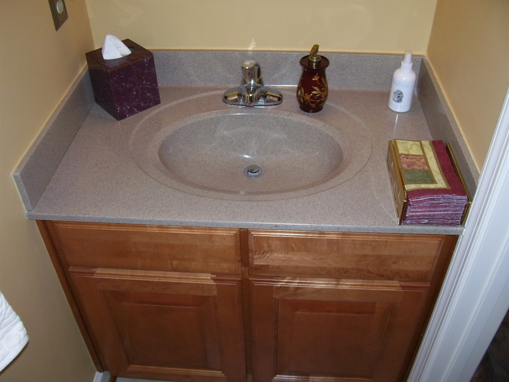 New sink and vanity