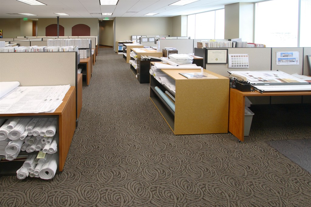 Commerical Office Carpet Installation