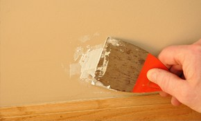 $180 for 2 Hours of Drywall/Plaster Repair!