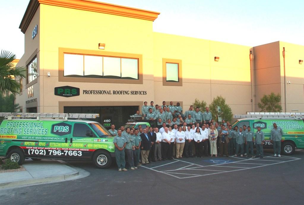 Prs Professional Roofing Service Las Vegas Nv 89118