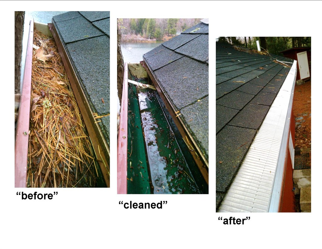Gutter Cleaning & Guards