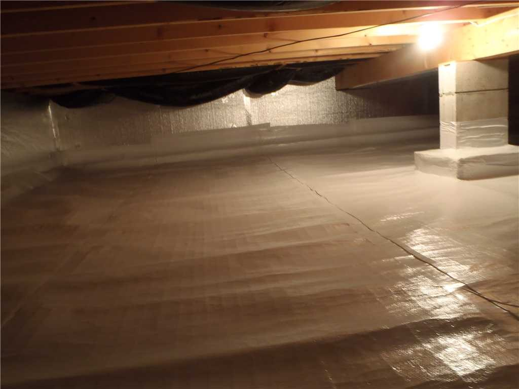Crawl Space After Encapsulation - Troy, MI