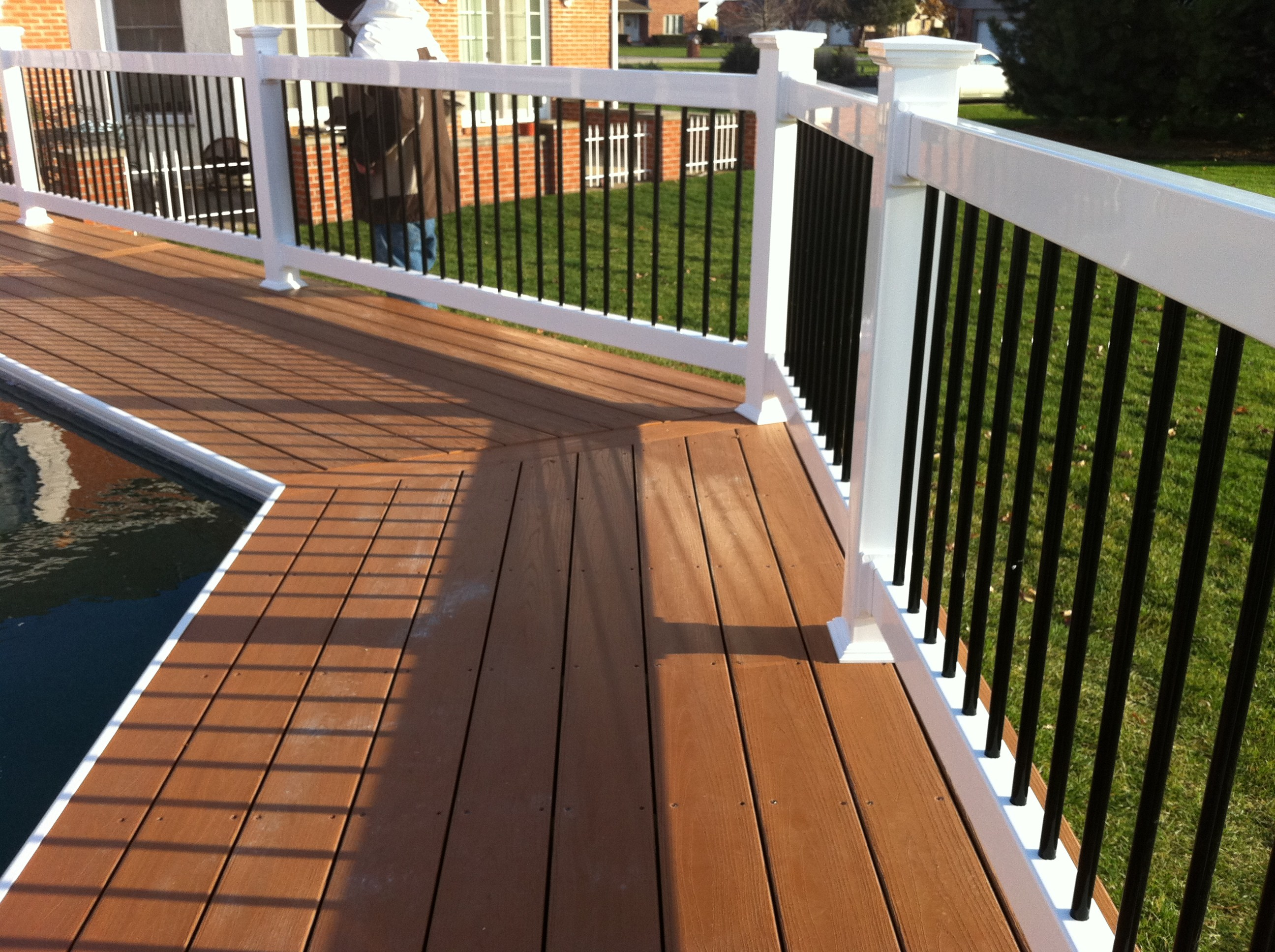 1000 images about decks on pinterest two tones decking. Black Bedroom Furniture Sets. Home Design Ideas