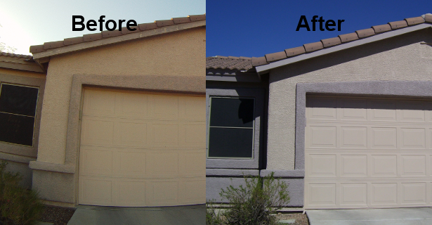 Rock bottom painting tucson az 85742 angies list for Arizona exterior house colors