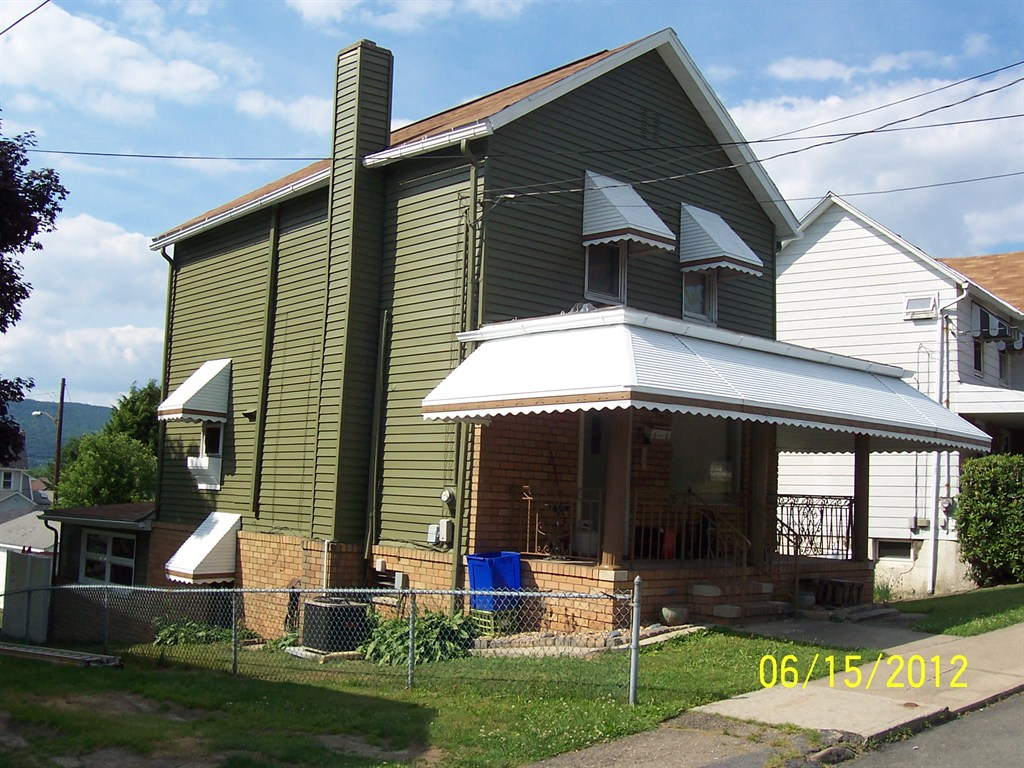 House painted in Pittston