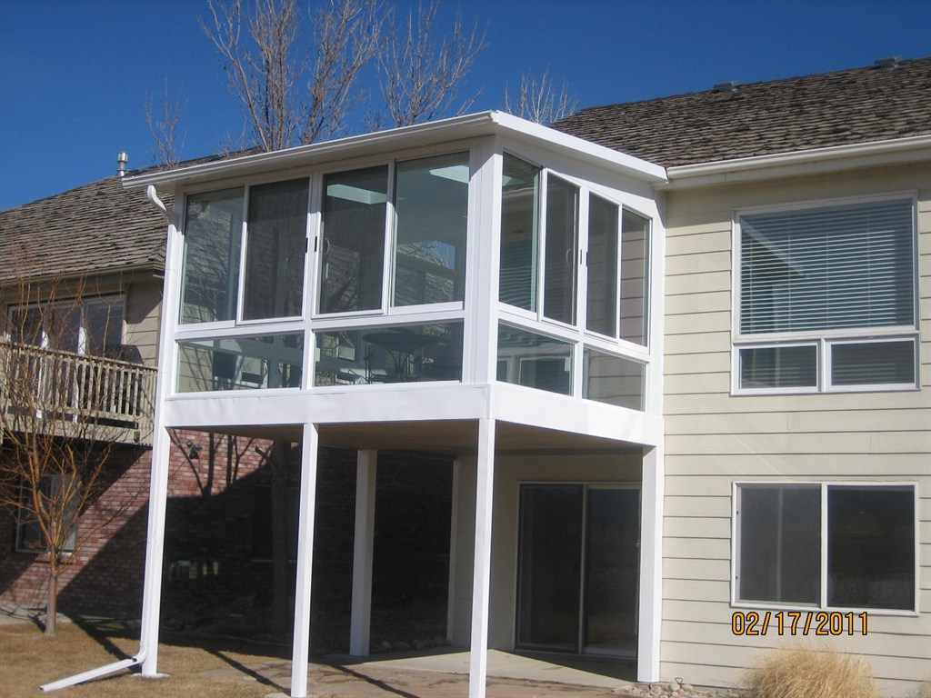 Image Result For Two Story Sunroom