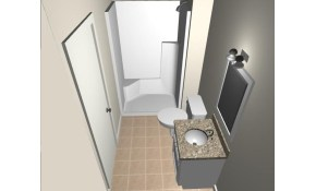 $7,500 for A Complete Basement Bathroom Installation...