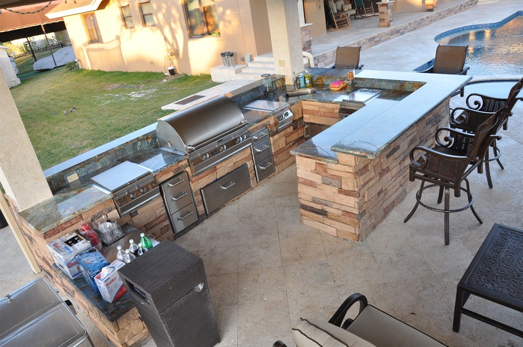 The bbq depot hollywood fl 33023 angies list for U shaped outdoor kitchen designs
