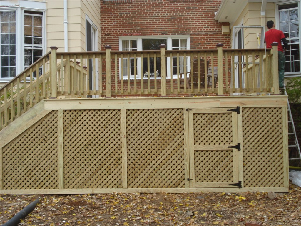American deck patio bethesda md 20817 angies list for Balcony decking