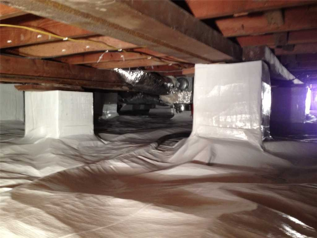 Crawl Space Encapsulation in New Baltimore - After