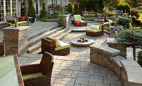 33% Off a New 300 Sq Ft Raised Patio!