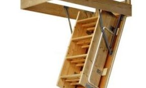 Attic Stair Installation for $169!