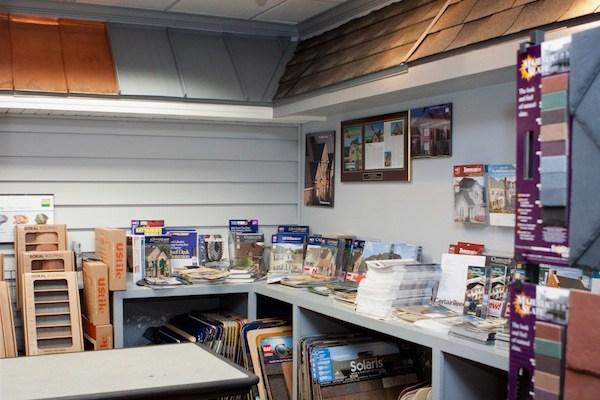 Swan Roofing Showroom
